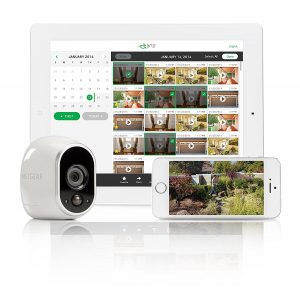 Arlo iPad iPhone Handy Tablet App