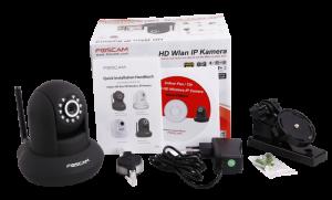Foscam FI9821W V2 IP-Kamera Lieferumfang