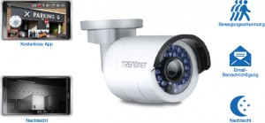 TV-IP310PI PoE Kamera